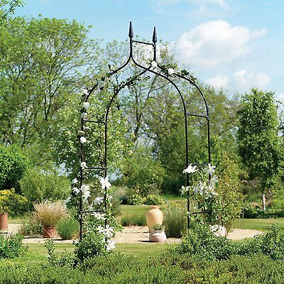 Garden Metal Arch Flowers Climbing Plants Pergola Supporter Honeysuckle, Rose