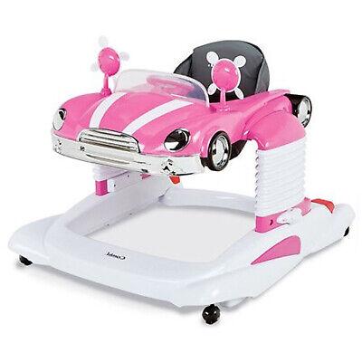 Baby Girl Activity Walker Entertainer Pink Mobile Car Infant Toddler Jumper Toy - Toddler Pink Car