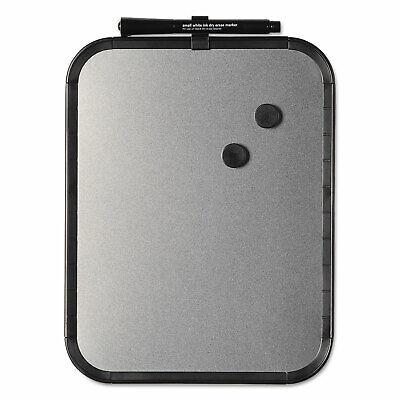Mastervision Magnetic Dry Erase Board 11 X 14 Black Plastic Frame Clk020402