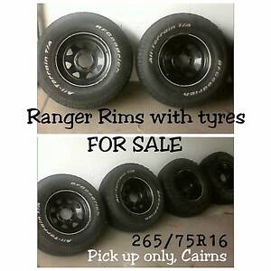 Rims and tyres for sale Cairns Cairns City Preview