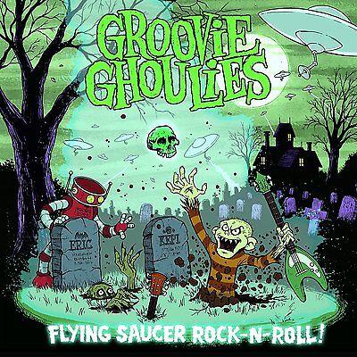 Groovie Ghoulies Flying Saucer Rock N Roll COLOR Vinyl LP Record & MP3! 7