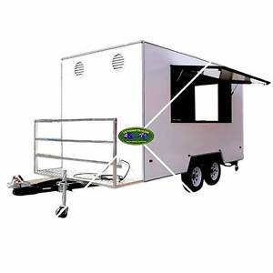 Food & Coffee Mobile Large Trailers - Start Being Your Own Boss!! South Townsville Townsville City Preview