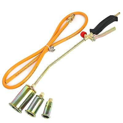 Portable Propane Torch W3 Nozzles Lawn Landscape Weed Burner Ice Snow Melter