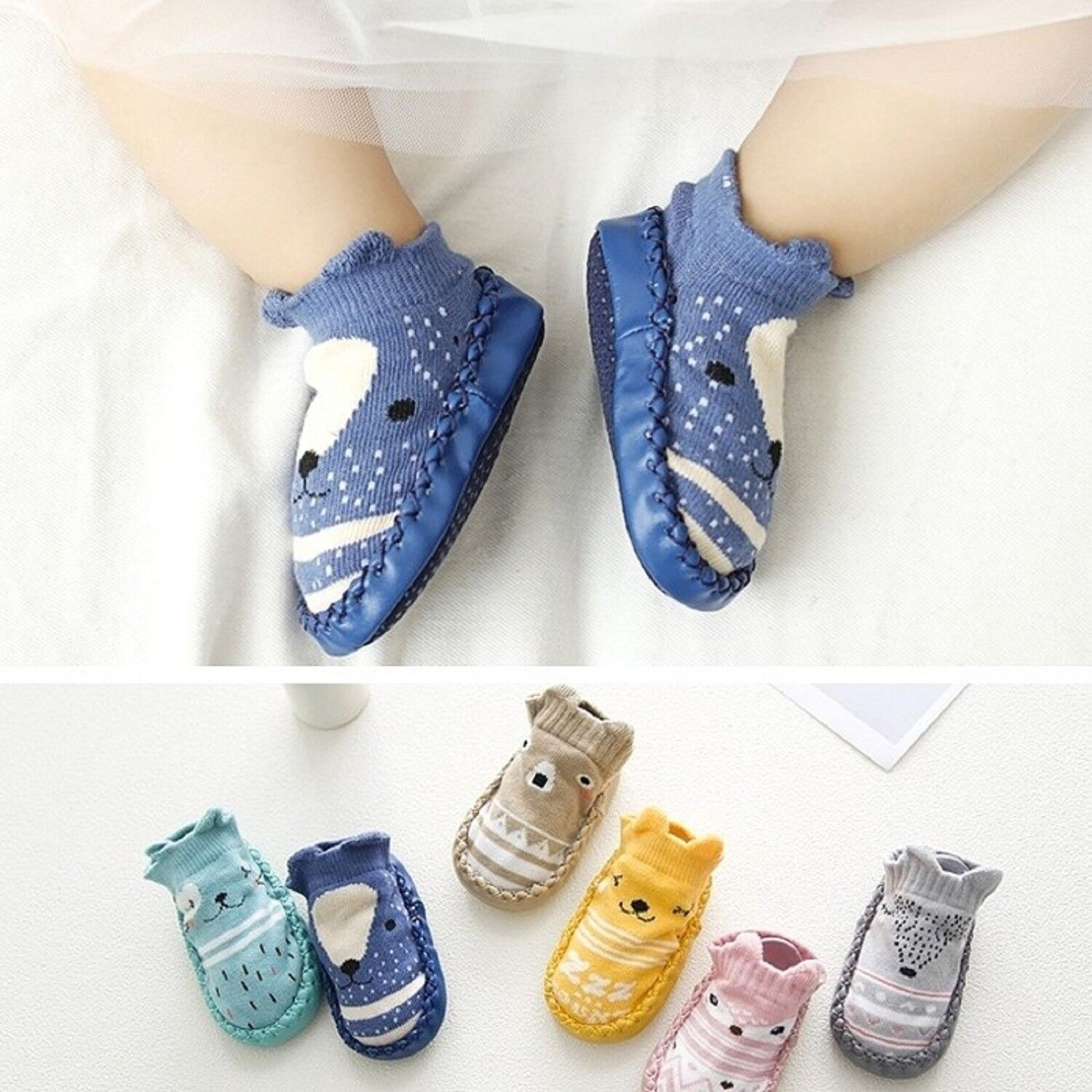 Cute Pink Dog Baby Boy Shoes Booties Boots Slippers Clothes