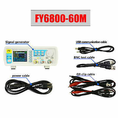 Dds Function Signal Generator Dual-channel Source Frequency Counter 60mhz