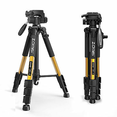 ZOMEI Z666 Professional Aluminum travel Tripod & Pan Head For Canon DSLR Camera