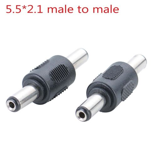 5.5*2.1mm Female to Female male to male DC CCTV Power extension Adaptor cable oy