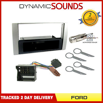 Single Din Car Stereo Fascia Wiring Harness Fitting Kit For Ford Focus (04-07)