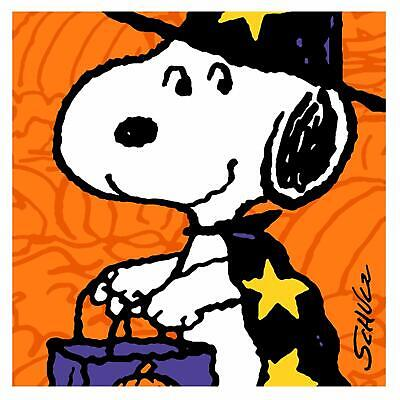 n Snoopy Cartoon Halloween Party Paper Luncheon Napkins (Cartoon-halloween-party)
