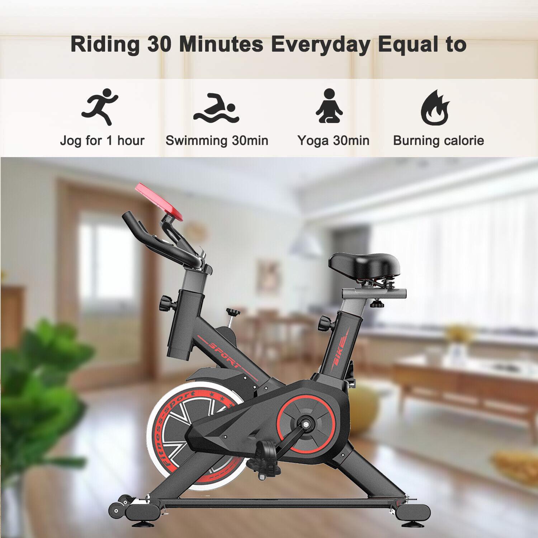 Indoor Fitness Fahrrad Heimtrainer Trimmrad Hometrainer Ergometer Speedbike DE