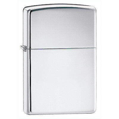 Zippo High Polish Chrome Lighter 250