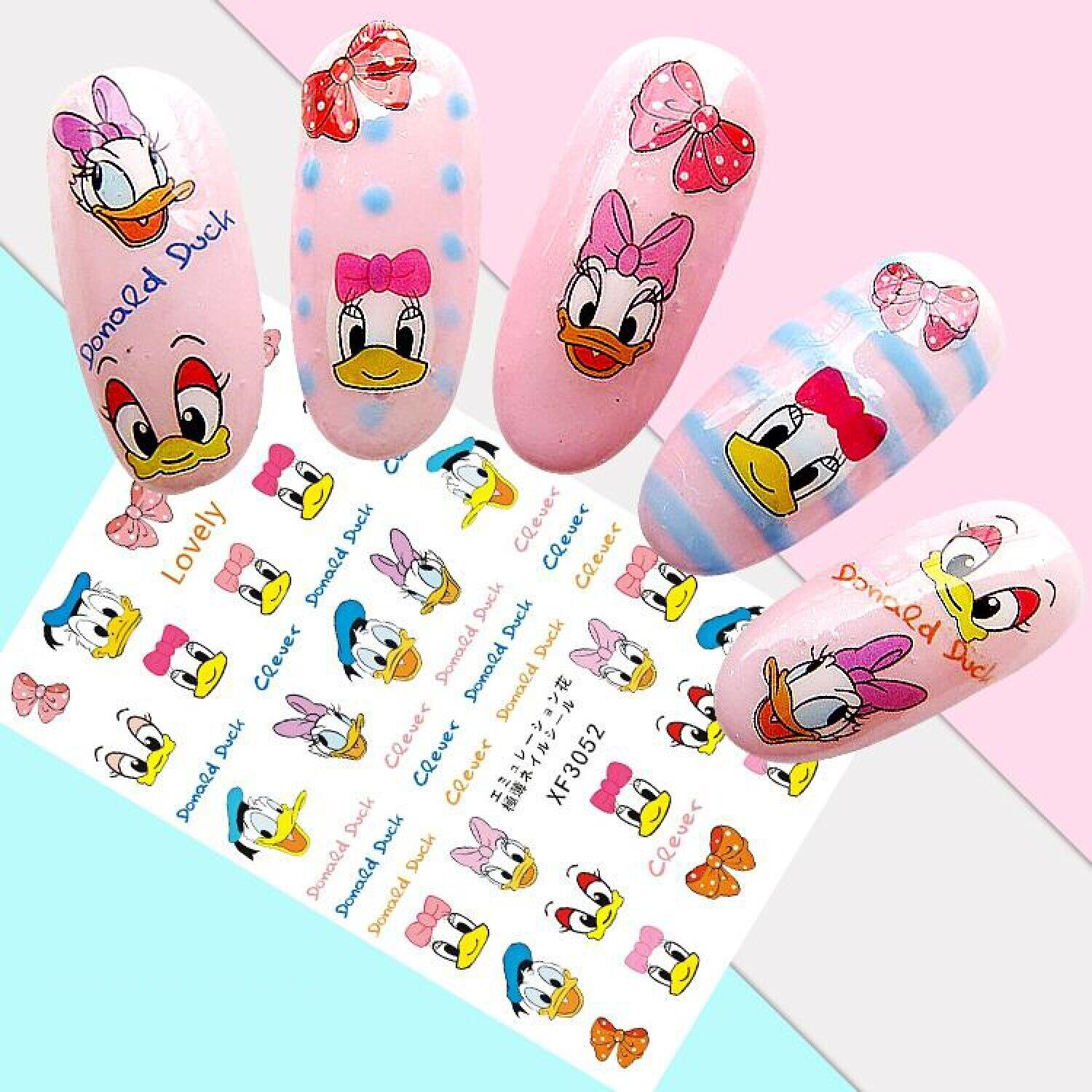 nail art stickers transfers 3d self adhesive
