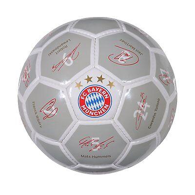 Fc Bayern München Fußball *** Signature ***  17/18       Größe 1   ( Ball )