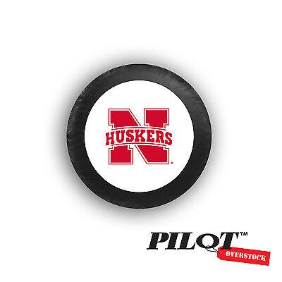 Nebraska Huskers Tire Cover - College Football Spare Tire Cover University of Nebraska Cornhusker Huskers