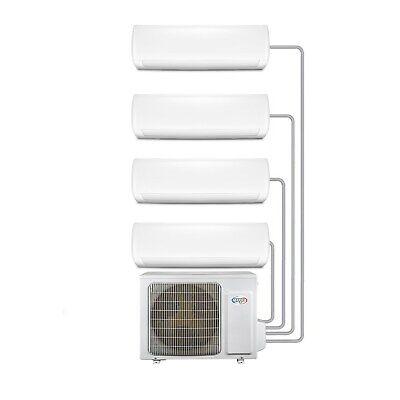 Multi-split 4-Way WiFi Ready Inverter Wall Air Conditioner Syst Argo-4MS9K9K9K9K