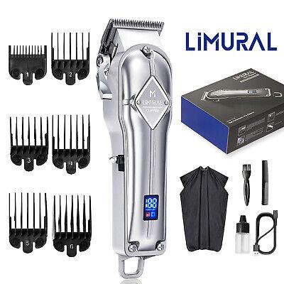 آلة قص الشعر المهنية من ليمورال ، ماكينة حلاقة وتشذيب الشعر للرجال
