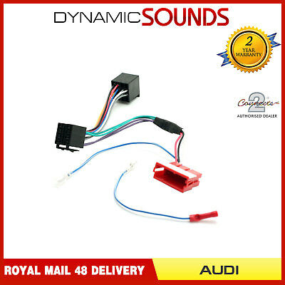 Amplified Wiring Harness ISO Lead Bose Symphony for Audi A2 A3 A4 A6 A8