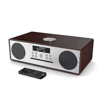 Majority Oakington DAB DAB+ FM Radio CD Player With Bluetooth Micro HiFi System