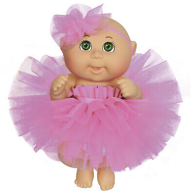 Cabbage Patch Kids 9 Inch Dance Time Girl, Green Eyes, Pink -