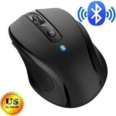 Mice Mouse Bluetooth Wireless Optical 2400 Dpi For Mac Macbook Pc Laptop Android