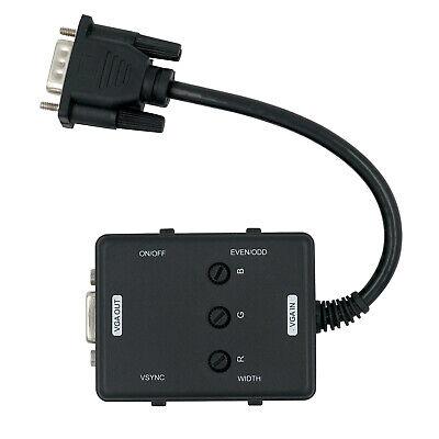 VGA Scanline Generador Con Cable Extensión #18464