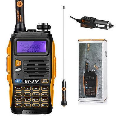 Handheld Radio Scanner Two 2 Way Digital Transceiver HAM VHF Antenna UHF New