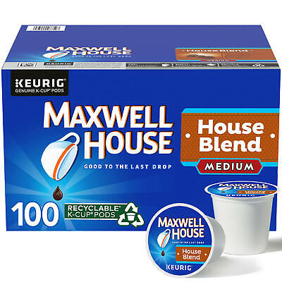 Maxwell House Medium Roast House Blend Coffee K-Cups (31 oz., 100 ct.) FAST SHIP