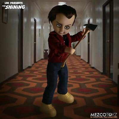 Mezco Living Dead Dolls Presents The Shining Jack Torrance Doll FREE SHIP