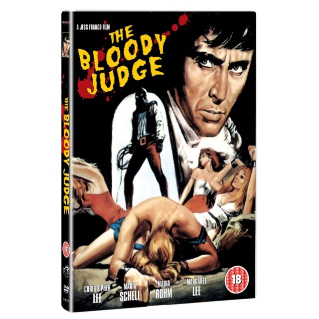 The Bloody Judge - DVD NEW & SEALED - Christopher Lee, Jess Franco