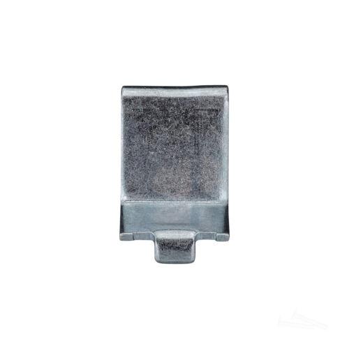 100 Pack Zinc Knape & Vogt 256 Adjustable Steel Pilaster Shelf Support Clip