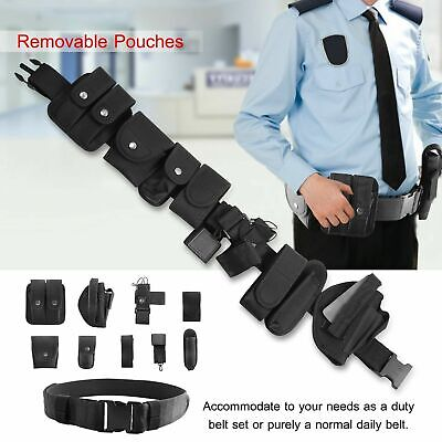 Tactical Belt Bag Police Security Guard Military Duty Utility Belt Pouch Holster