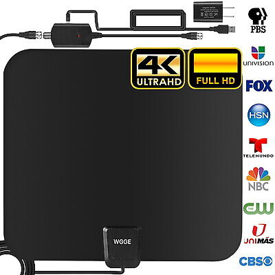 TV Antenna, Upgraded Newest HDTV Indoor Digital Amplified TV Antennas 280 Miles