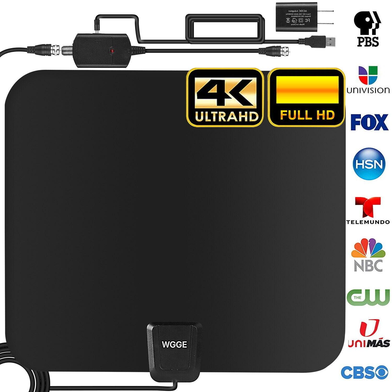 TV Antenna Newest 4k 1080p HDTV Indoor Digital Amplified Up
