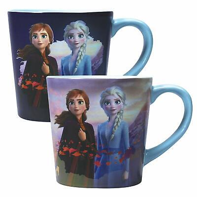 Frozen 2 Heat Changing Tapered Mug Destiny - Officially licensed - Anna and Elsa