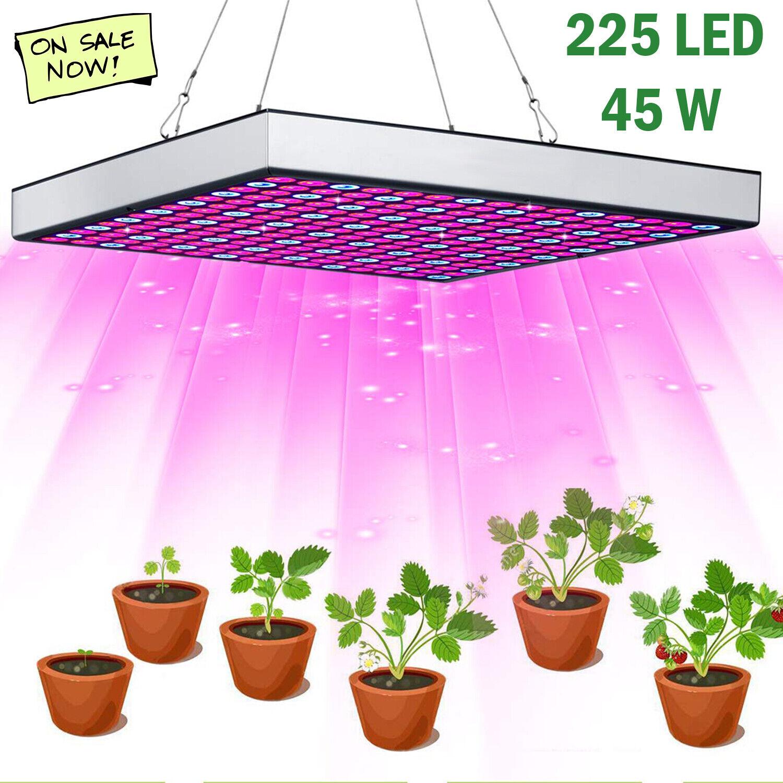 New LED Grow Light 225 LED UV IR Growing Lamp Indoor Plants Hydroponic Full Spectrum Spectrum LED Grow Light for 25.99.