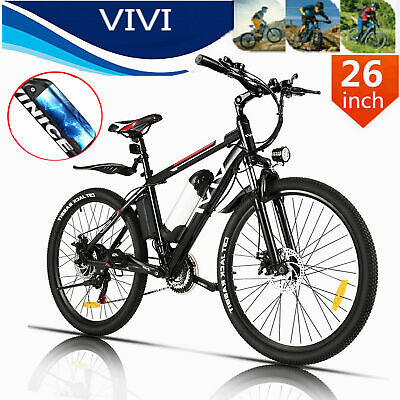Elektrofahrrad Mountainbike 26 Zoll 250W Motor E-Bike 21-Gänge Shimano t c 02