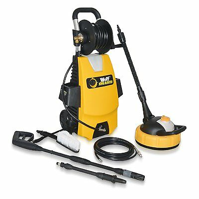 WOLF Pressure Power Washer 2000w 240v 160BAR 2375psi Auto Stop Start