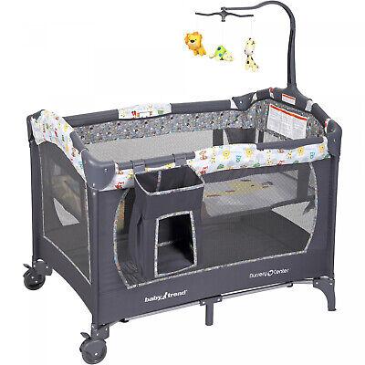 Baby Nursery Crib Infant Bassinet Bed Durable Portable Sleep