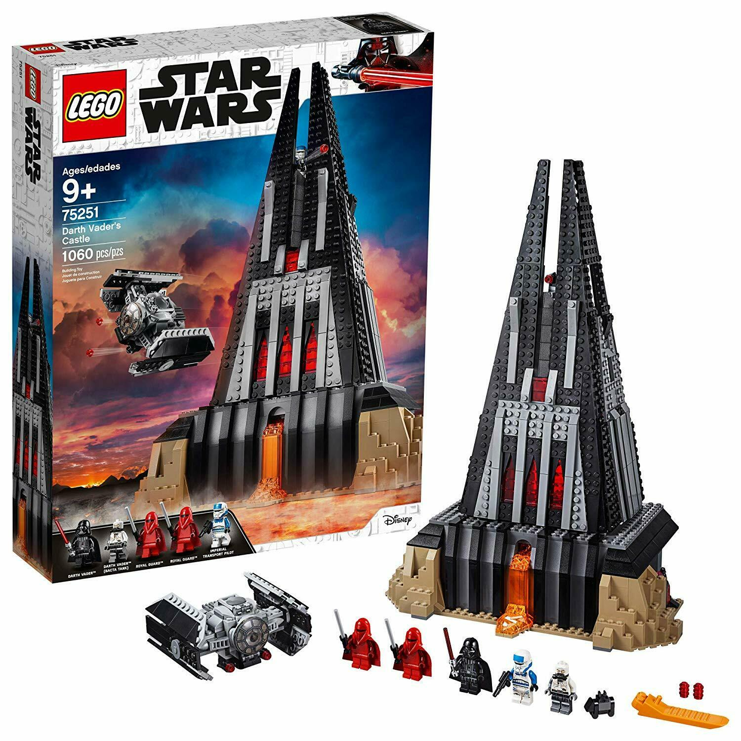 - LEGO Star Wars: Darth Vader's Castle - 75251 [Building Kit 1060