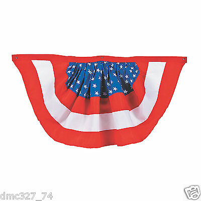 1 4th of July Election Decoration PATRIOTIC AMERICAN Party Porch Balcony - 4th Of July Bunting