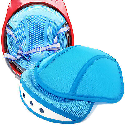 Safety Hard Hat Work Helmet Cap Insert Mesh Cooling Microfiber Towel Sweatband