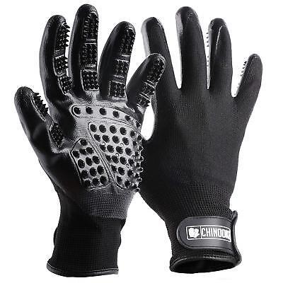 Pet Grooming Gloves, Hair Removal Gentle Deshedding Brush Massage Tool