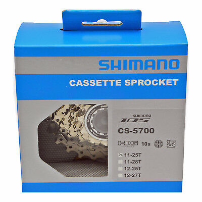 NEW Shimano 105 10 Speed Cassette: Fits Ultegra, Dura Ace CS-5700: 11-25 Dura Ace 10 Speed Cassette