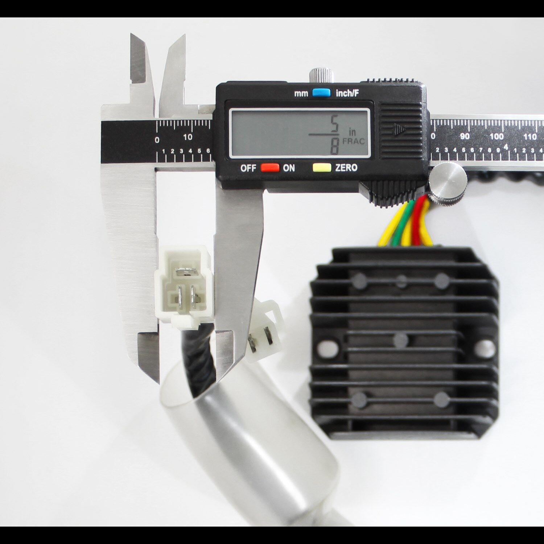 93 18 Honda Xr650l 650 31600 My6 671 Voltage Rectifier Regulator Wiring Diagram 2004 Wire Harness Vr