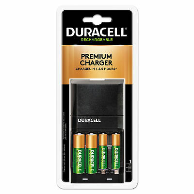 Duracell ION SPEED 4000 Hi-Performance Charger, 2 AA and 2 AAA NiMH Batteries for sale  Shipping to India