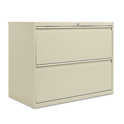Alera Two-drawer Lateral File Cabinet 36w X 19-14d X 28-38h Putty Lf3629py