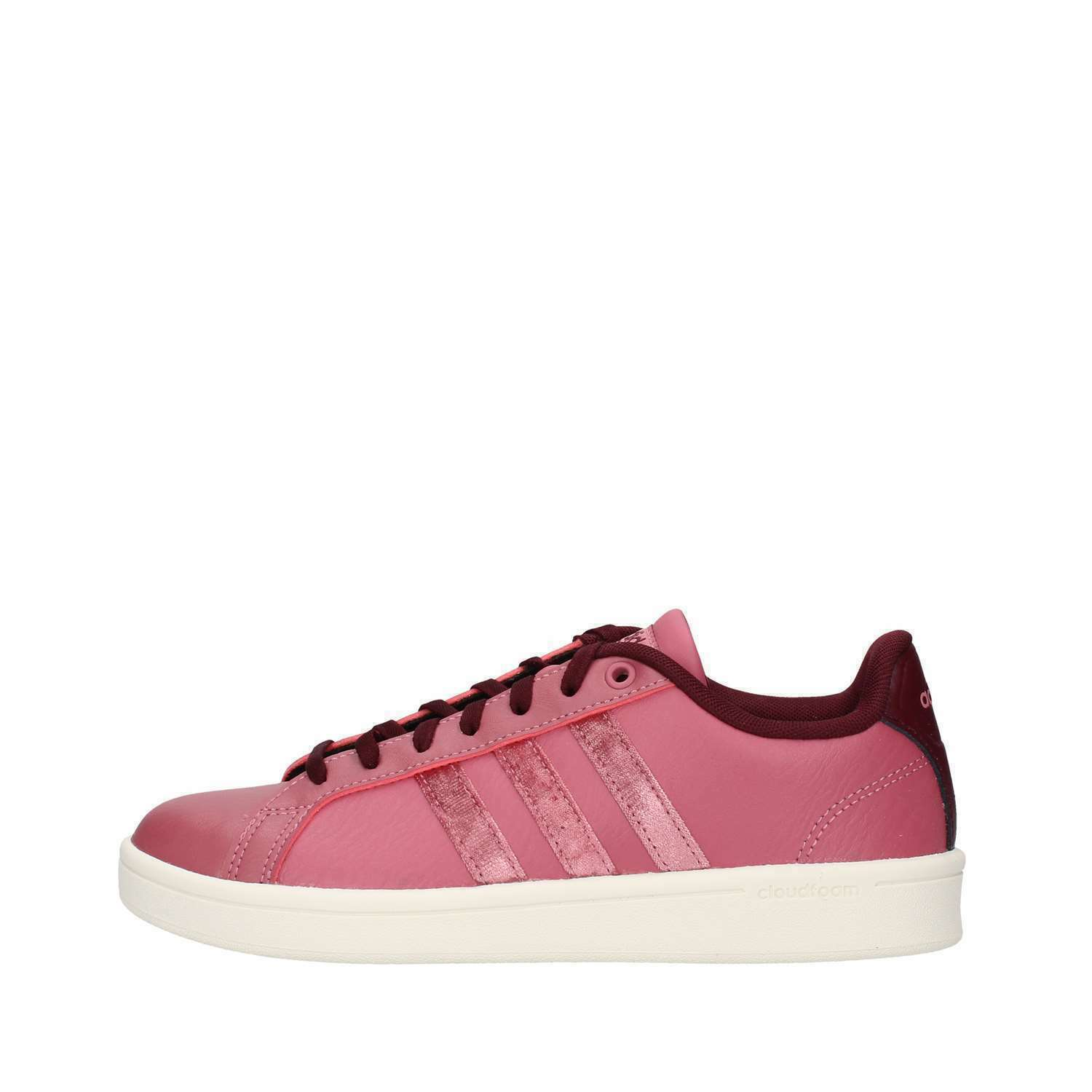 ADIDAS NEO CF ADVANTAGE sneakers ROSSO scarpe DONNA CASUAL cloudfoam BB7255