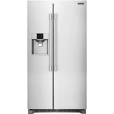 Frigidaire Stainless PRO Counter-Depth Side-by-Side Refrigerator FPSC2277RF