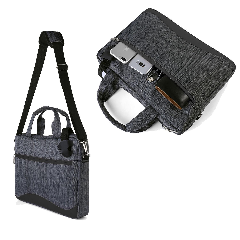 9c35cd3a9db VanGoddy Nylon Laptop Messenger Bag Briefcase for 13.5
