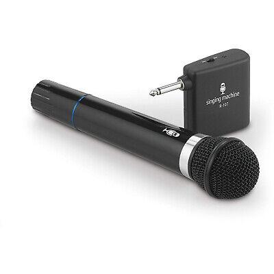 Singing Machine Wireless Karaoke Microphone with VHF Receiver - SMM-107